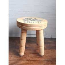 Personalised Wooden Milk Stool
