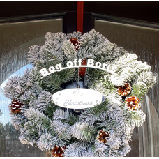 Bog Off Boris Wreath Accessory