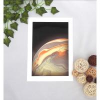Neutral Planet Artwork Print