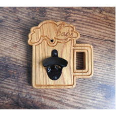 Personalised Oak Bottle Opener