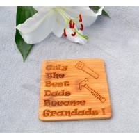 Wooden Grandad Coaster
