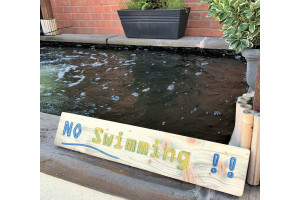 No Swimming!!