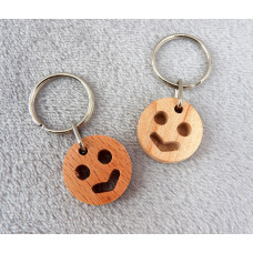 Smile Face Keyring
