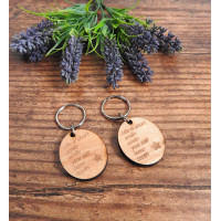Quote Keyrings