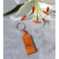 Mum Bottle Keyring