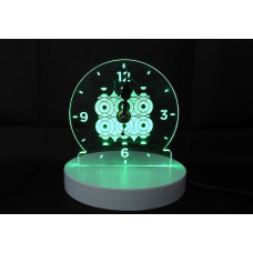 LED Light Up Clock