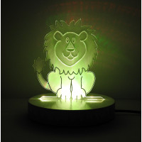 Lion LED Night Light