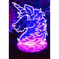 Unicorn LED Light Up Sign