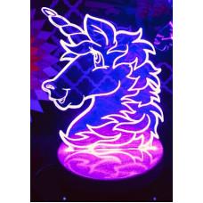 Unicorn LED Light Up Sign