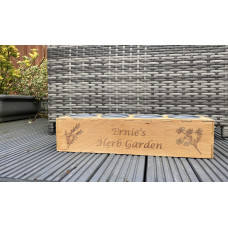Personalised Herb Garden