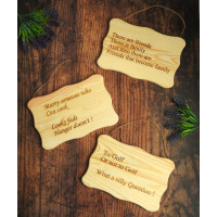 Quote Wooden Signs