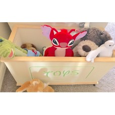 Wooden Toy Box