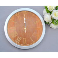 Personalised Wedding Wooden Wall Clock