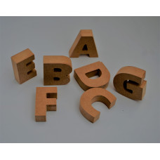 Wooden Craft Letters A-Z
