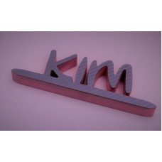 Personalised 3D Name Sign